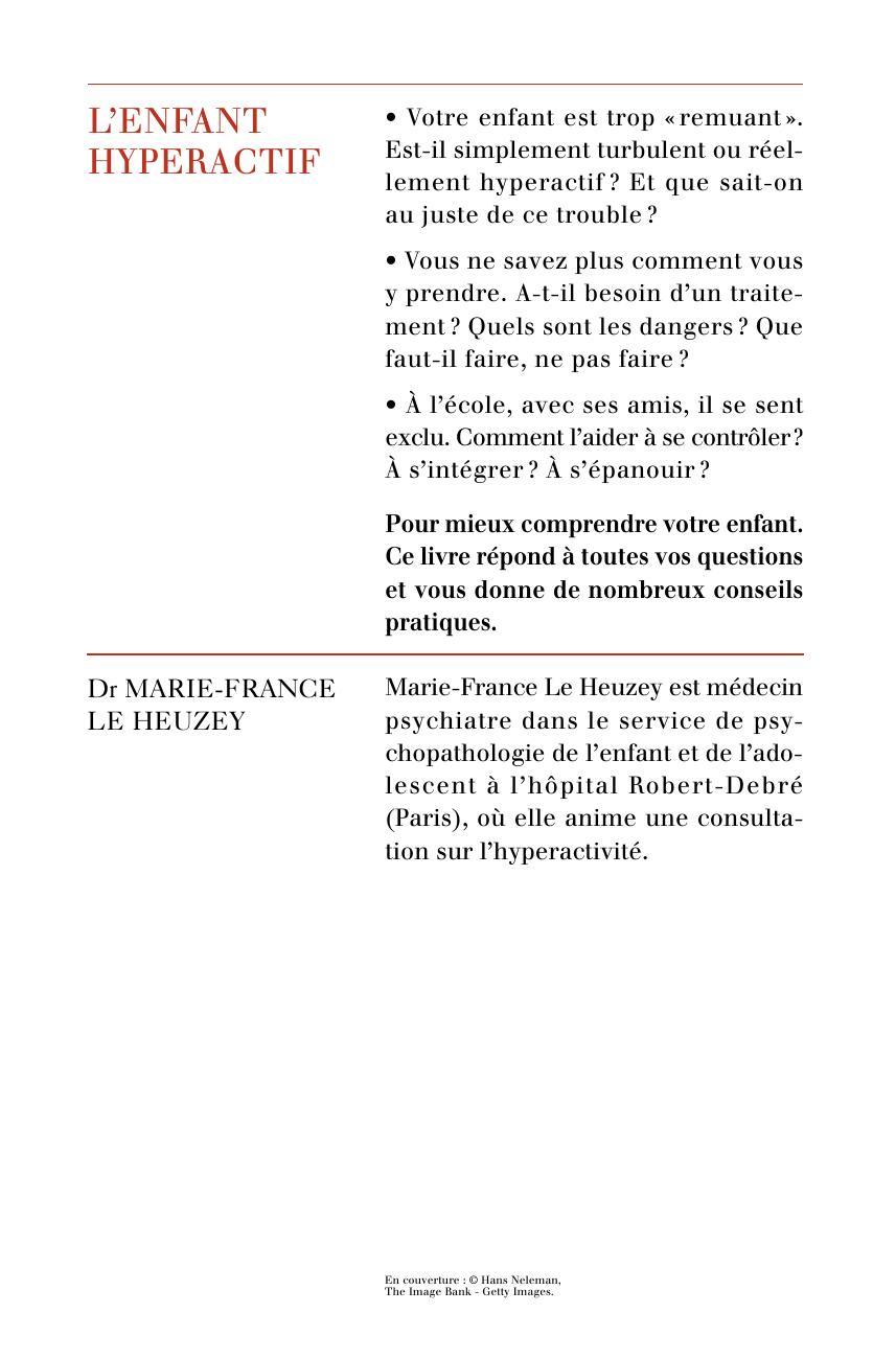 Enfant hyperactif | Éditions Odile Jacob